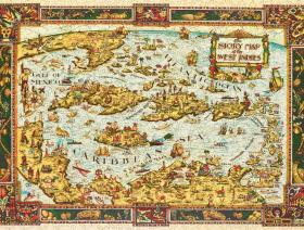 The Story Map of the West Indies - Liberty Puzzles - 2