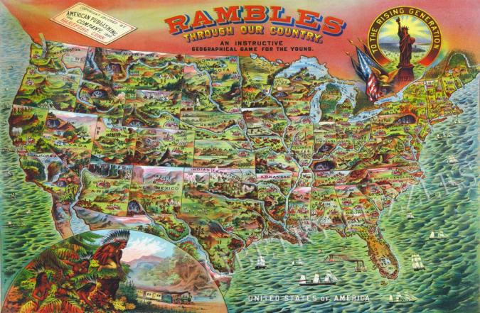 Rambles Through Our Country - Liberty Puzzles - 6