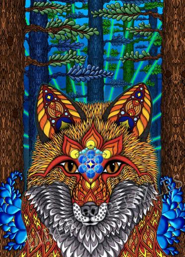 Electric Fox - Liberty Puzzles - 6