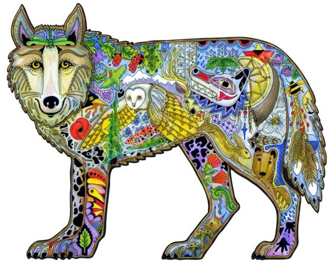 Wolf - Liberty Puzzles - 6