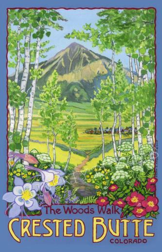The Woods Walk, Crested Butte, Colorado - Liberty Puzzles - 6