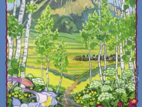 The Woods Walk, Crested Butte, Colorado - Liberty Puzzles - 1