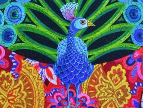 Peacock and Pattern - Liberty Puzzles - 3