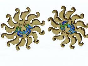 Peacock and Pattern - Liberty Puzzles - 6