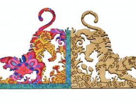 Peacock and Pattern - Liberty Puzzles - 9