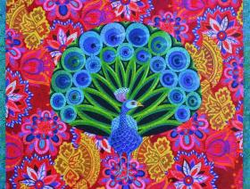 Peacock and Pattern - Liberty Puzzles - 2