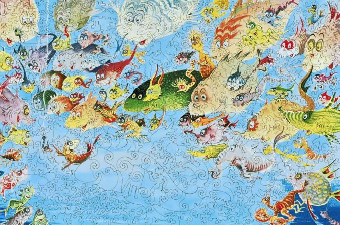 A Plethora of Fish - Liberty Puzzles - 11