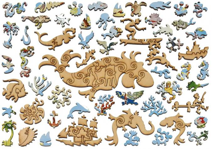 A Plethora of Fish - Liberty Puzzles - 14