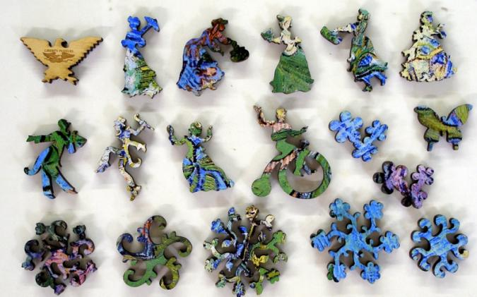 Blossoming Chestnut Branches - Liberty Puzzles - 10