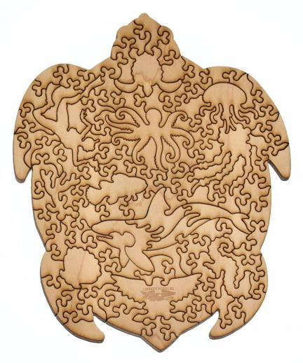 Sea Turtle small round - Liberty Puzzles - 11