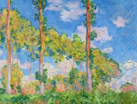 Poplars in the Sun - Liberty Puzzles - 1