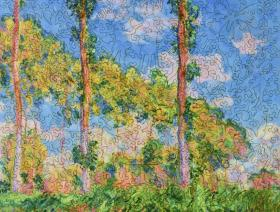 Poplars in the Sun - Liberty Puzzles - 2