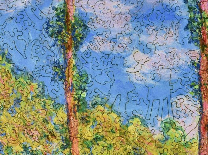Poplars in the Sun - Liberty Puzzles - 12
