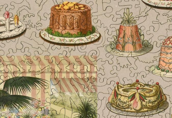Fancy Cakes - Liberty Puzzles - 11