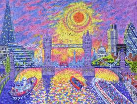 Sunset: Pool of London - Liberty Puzzles - 2