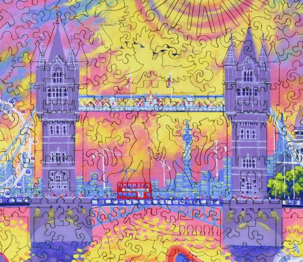 Sunset: Pool of London - Liberty Puzzles - 12