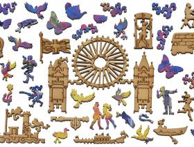 Sunset: Pool of London - Liberty Puzzles - 5