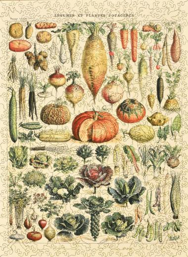 Vegetables and Plants - Liberty Puzzles - 11