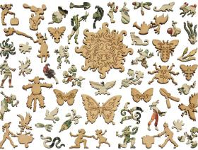 Vegetables and Plants - Liberty Puzzles - 5