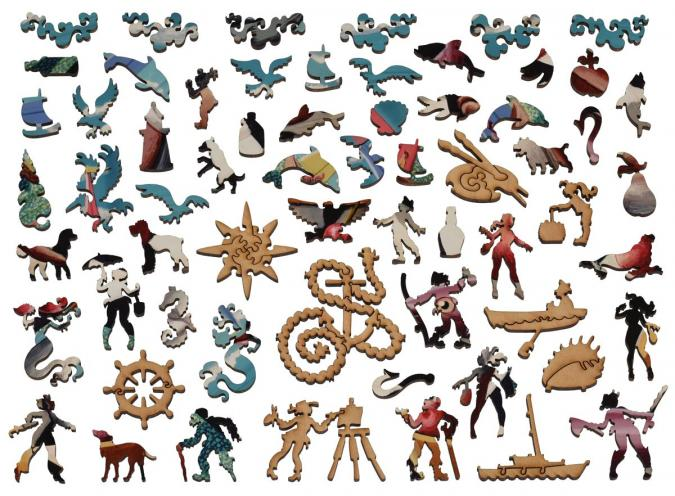 Sea Dog - Liberty Puzzles - 13