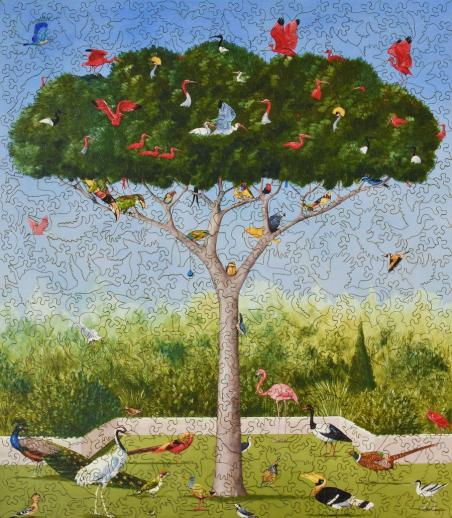 A Good Tree Can Lodge Ten Thousand Birds - Liberty Puzzles - 10