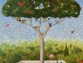 A Good Tree Can Lodge Ten Thousand Birds - Liberty Puzzles - 2