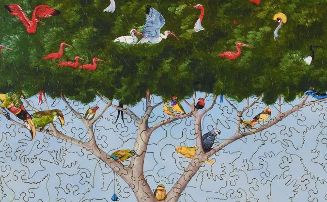 A Good Tree Can Lodge Ten Thousand Birds - Liberty Puzzles - 11