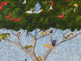 A Good Tree Can Lodge Ten Thousand Birds - Liberty Puzzles - 3