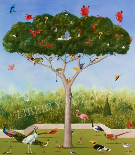A Good Tree Can Lodge Ten Thousand Birds - Liberty Puzzles - 9