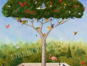 A Good Tree Can Lodge Ten Thousand Birds - Liberty Puzzles - 1