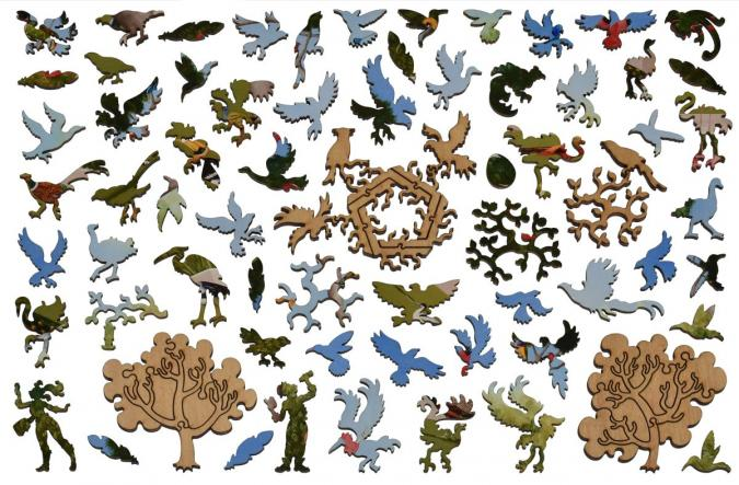 A Good Tree Can Lodge Ten Thousand Birds - Liberty Puzzles - 13