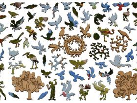 A Good Tree Can Lodge Ten Thousand Birds - Liberty Puzzles - 5