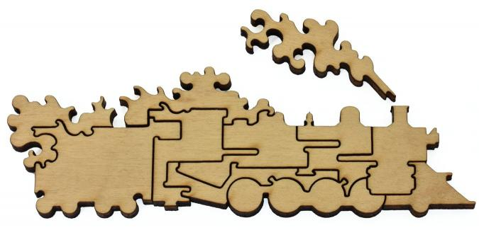 Colorado United Airlines - Liberty Puzzles - 16