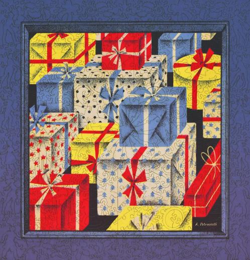 Brightly Colored Gifts - Liberty Puzzles - 10