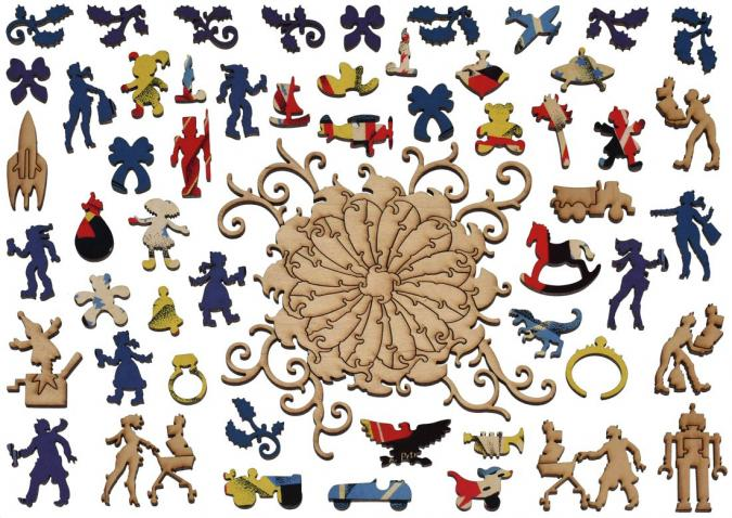 Brightly Colored Gifts - Liberty Puzzles - 13