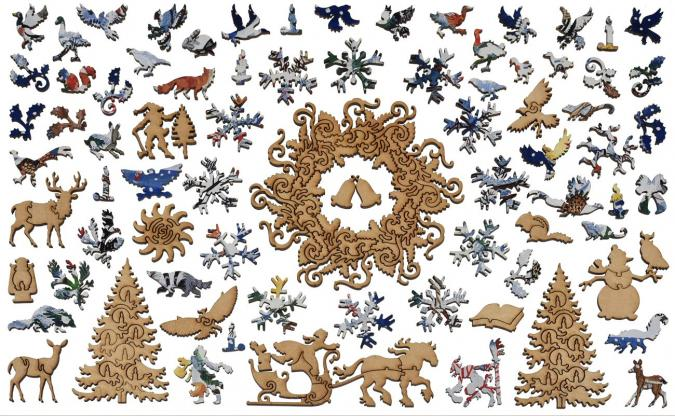 Christmas Tree - Liberty Puzzles - 14
