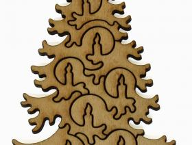 Christmas Tree - Liberty Puzzles - 6