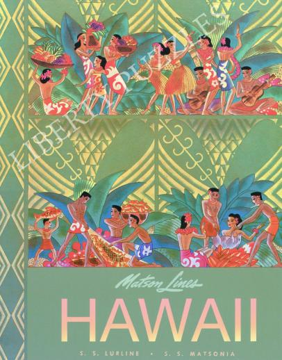 Matson Lines Hawaii - Liberty Puzzles - 9
