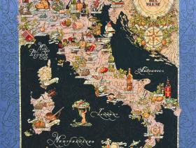 Bel Paese - Gastronomical Map of Italy - Liberty Puzzles - 2