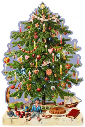 Victorian Christmas Tree - Liberty Puzzles - 9