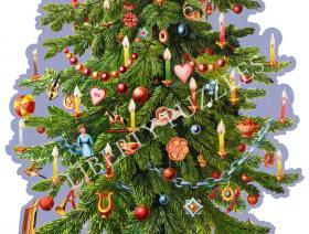 Victorian Christmas Tree - Liberty Puzzles - 1