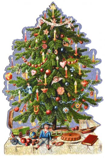 Victorian Christmas Tree - Liberty Puzzles - 10