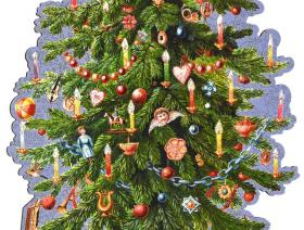 Victorian Christmas Tree - Liberty Puzzles - 2