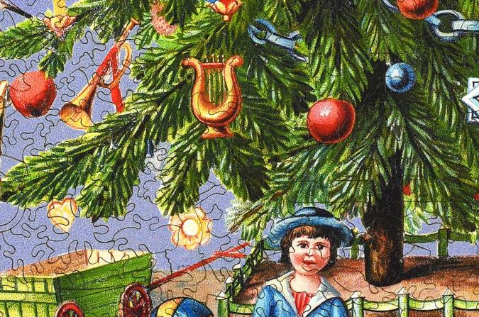 Victorian Christmas Tree - Liberty Puzzles - 11