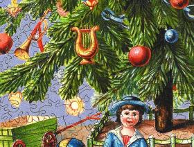 Victorian Christmas Tree - Liberty Puzzles - 3