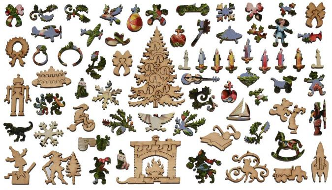 Victorian Christmas Tree - Liberty Puzzles - 13