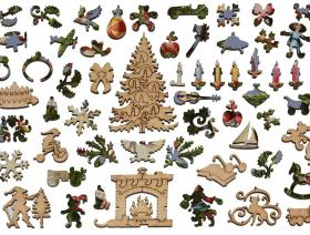 Victorian Christmas Tree - Liberty Puzzles - 5