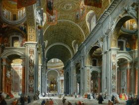 Interior of St. Peter's, Rome - Liberty Puzzles - 1