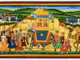 Procession of Akbar, King of the Mughals - Liberty Puzzles - 1