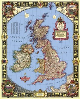 Map of the British Isles - Liberty Puzzles - 6